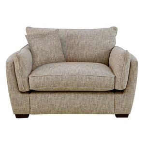 Living Proof Sofas - Griffin Fabric Snuggler Chair - Beige