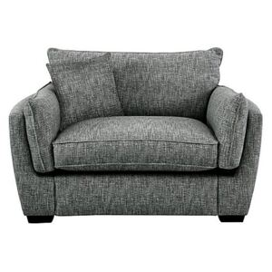 Living Proof Sofas - Griffin Fabric Snuggler Chair - Grey