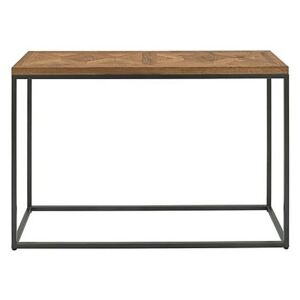 Globe Console Table - Brown
