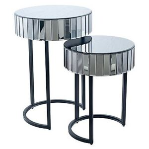 Winchester Side Tables - Silver