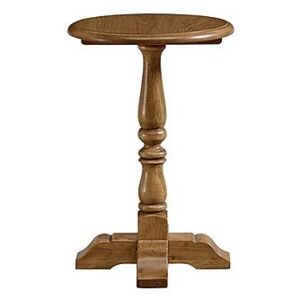 Old Charm Tall Wine Table - Brown