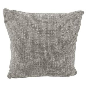 Living Proof Sofas - LivingProof Large Fabric Scatter Cushion - Silver