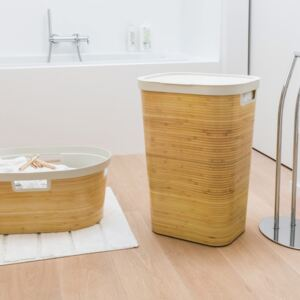 Laundry basket Infinity 60 L bamboo CURVER