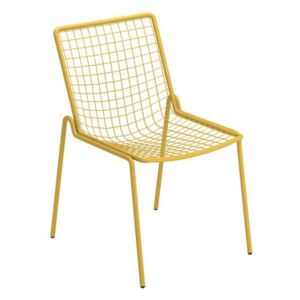 Rio R50 Stacking chair - / Metal by Emu Yellow