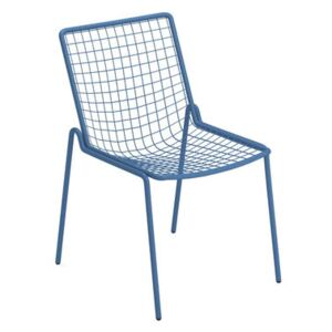 Rio R50 Stacking chair - / Metal by Emu Blue