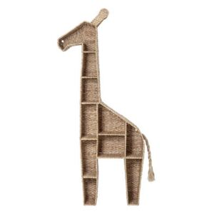 Girafe Bookcase - / free-standing - L 46 x H 148 cm by Bloomingville Beige/Natural wood