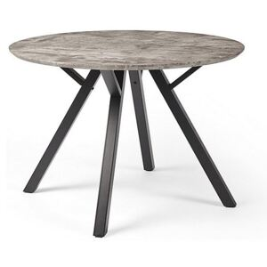 Diego Round Dining Table - Grey