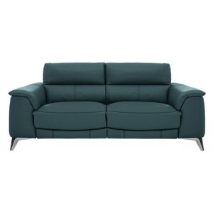 Odyssey 3 Seater Leather Static Sofa- World of Leather