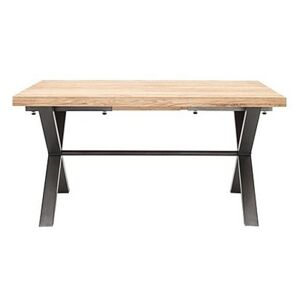 Earth Dining Table - 150-cm - Brown