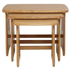 Ercol - Windsor Nest of Tables - Brown