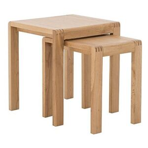 Ercol - Bosco Nest of Tables - Brown