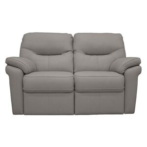 G Plan - Seattle 2 Seater Leather Manual Recliner Sofa
