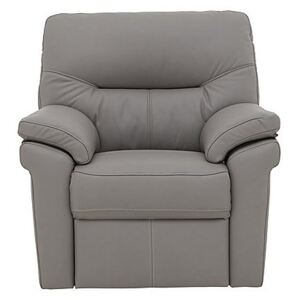 G Plan - Seattle Leather Manual Recliner Armchair