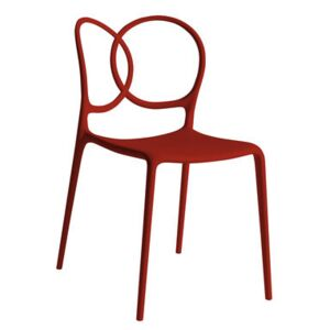 Sissi Stacking chair - Outdoor by Driade Red