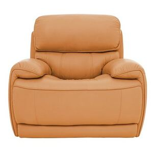 Relax Station Rocco Leather Power Rocker Armchair with Power Headrests- World of Leather