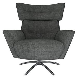 The Lounge Co. - Hermione Jacob Fabric Armchair - Grey