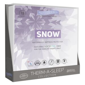 Protect A Bed Snow Mattress Protector, Double