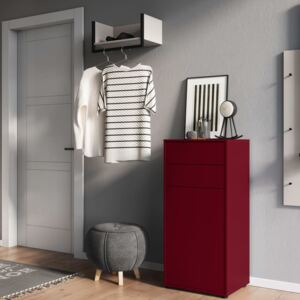 Germania Shoe Cabinet GW-Madeo Ruby Red