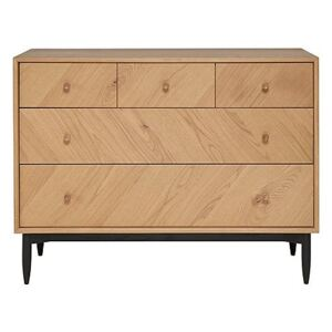 Ercol - Monza 5 Drawer Wide Chest Of Drawers