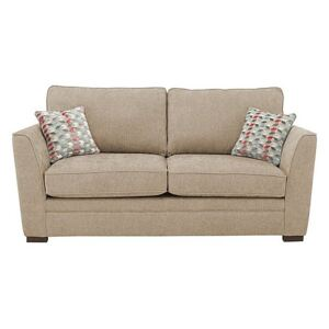 The Delight 2 Seater Classic Back Fabric Sofa - Mink