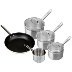Denby Stainless Steel 5 Piece Pan Set