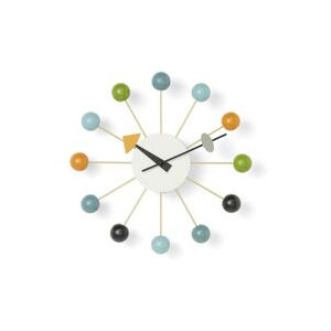 Ball Clock Wall clock - / By George Nelson, 1948-1960 / Ø 33 cm by Vitra Multicoloured