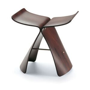 Butterfly Stool Stool - / By Sori Yanagi, 1954 by Vitra Natural wood