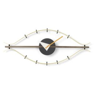Eye Clock Clock - / By George Nelson, 1948-1960 / L 76 cm by Vitra Gold/Metal