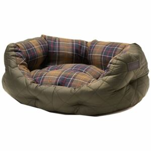Barbour Quilted Dog Bed Olive 35