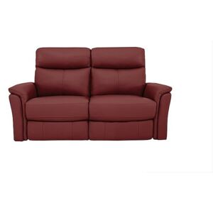 Compact Collection Piccolo 2 Seater Recliner Sofa - Red- World of Leather