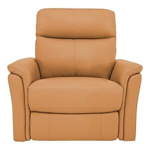 Compact Collection Piccolo Recliner Armchair - Yellow- World of Leather