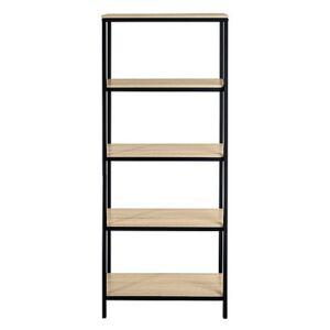 Asher Tall Bookcase - Beige
