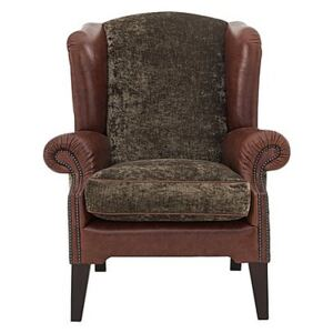 Tetrad - Northwood Wing Back Arm Chair - Brown