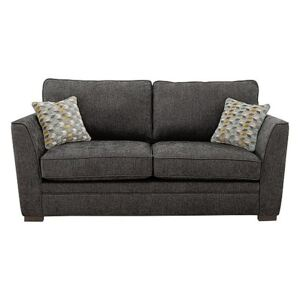 The Delight 2 Seater Classic Back Fabric Sofa - Grey