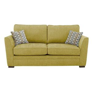 The Delight 2 Seater Classic Back Fabric Sofa - Green