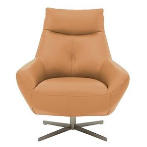 Galaxy Swivel Chair - Yellow- World of Leather