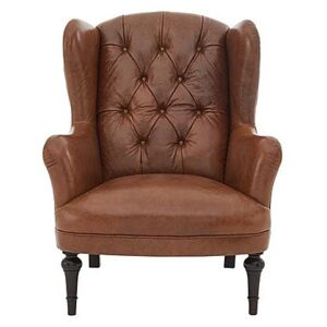 Tetrad - Southwood Leather Accent Chair - Brown