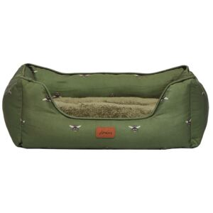 Joules Bee Print Dog Bed Small