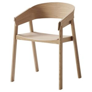 Cover Armchair - Wood by Muuto Natural wood