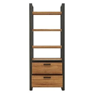 Earth Bookcase with Drawers