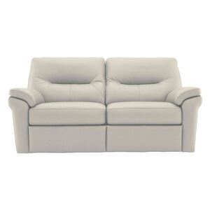 G Plan - Seattle 2.5 Seater Leather Manual Recliner Sofa