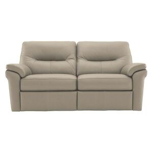 G Plan - Seattle 2.5 Seater Leather Power Recliner Sofa