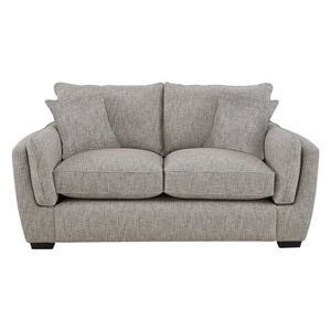 Living Proof Sofas - Griffin Fabric 2 Seater Sofa - Silver