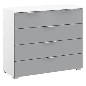 Rauch - Indiana 3 + 2 Drawer Chest of Drawers - Grey