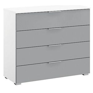 Rauch - Indiana 4 Drawer Wide Chest of Drawers - Grey