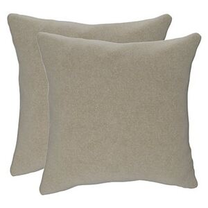 The Lounge Co. - Lorrie Pair of Small Fabric Scatter Cushions