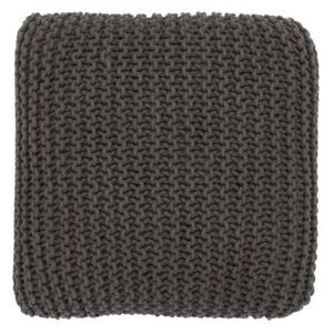 Maille Floor cushion by Ferm Living Brown