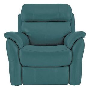 Relax Station Revive Leather Armchair - Blue- World of Leather