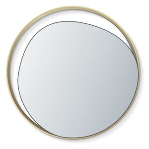 Ellipse Wall mirror - / Ø 50 cm by RED Edition Gold/Metal