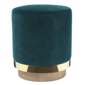 Pouf - / Velvet by RED Edition Blue
